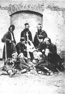 January_Uprising_participants_at_Święty_Krzyż_1863